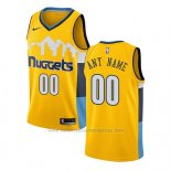 Camiseta Denver Nuggets Statement 2017-18 Amarillo Personalizada