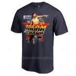 Camiseta Manga Corta Utah Jazz Donovan Mitchell Azul Marino 2018 All-Star Slam Dunk Champion