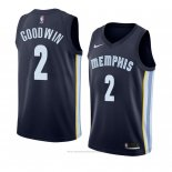 Camiseta Memphis Grizzlies Brandon Goodwin #2 Icon 2018 Azul
