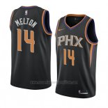 Camiseta Phoenix Suns De'anthony Melton #14 Statement 2018 Negro