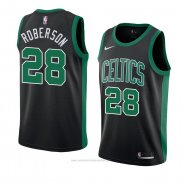 Camiseta Boston Celtics Jeff Roberson #28 Statement 2018 Negro