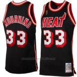 Camiseta Miami Heat Alonzo Mourning #33 Retro Negro