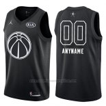 Camiseta All Star 2018 Washington Wizards Nike Personalizada Negro