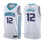 Camiseta Charlotte Hornets Dwight Howard #12 Association 2017-18 Blanco