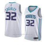 Camiseta Charlotte Hornets Joe Chealey #32 Association 2018 Blanco