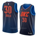 Camiseta Oklahoma City Thunder Hamidou Diallo #30 Statement 2018 Azul