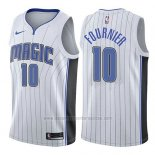 Camiseta Orlando Magic Evan Fournier #10 Association 2017-18 Blanco