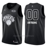 Camiseta All Star 2018 New York Knicks Nike Personalizada Negro