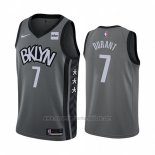 Camiseta Brooklyn Nets Kevin Durant #7 Statement 2019-20 Gris