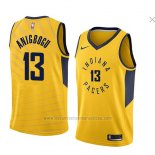 Camiseta Indiana Pacers Ike Anigbogu #13 Statement 2018 Amarillo