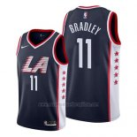 Camiseta Los Angeles Clippers Avery Bradley #11 Ciudad 2019 Azul