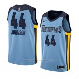 Camiseta Memphis Grizzlies Dakari Johnson #44 Statement 2018 Azul