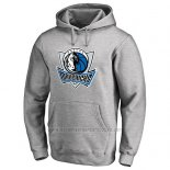 Sudaderas con Capucha Dallas Mavericks Gris2