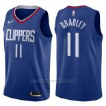 Camiseta Los Angeles Clippers Avery Bradley #11 Icon 2017-18 Azul