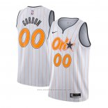 Camiseta Orlando Magic Aaron Gordon #00 Ciudad 2020-21 Blanco