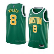 Camiseta Boston Celtics Kemba Walker #8 Earned 2019-20 Verde