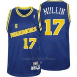 Camiseta Golden State Warriors Chris Mullin #17 Retro Azul