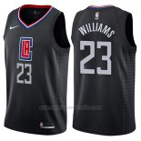 Camiseta Los Angeles Clippers Lou Williams #23 Statement 2018-19 Negro