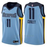 Camiseta Memphis Grizzlies Mike Conley #11 Statement 2017-18 Azul