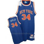 Camiseta New York Knicks Charles Oakley #34 Retro Azul