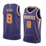 Camiseta Phoenix Suns George King #8 Icon 2018 Violeta