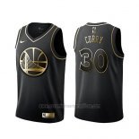 Camiseta Golden Edition Golden State Warriors Stephen Curry #30 Negro