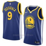Camiseta Golden State Warriors Andre Iguodala #9 Icon 2018 Azul