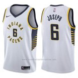 Camiseta Indiana Pacers Cory Joseph #6 Association 2017-18 Blanco