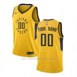 Camiseta Indiana Pacers Statement 2017-18 Amarillo Personalizada