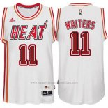Camiseta Miami Heat Dion Waiters #11 Retro Blanco