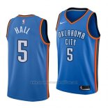Camiseta Oklahoma City Thunder Devon Hall #5 Icon 2018 Azul