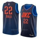 Camiseta Oklahoma City Thunder Hamidou Diallo #22 Statement 2018 Azul