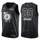 Camiseta All Star 2018 Boston Celtics Nike Personalizada Negro