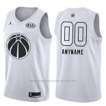 Camiseta All Star 2018 Washington Wizards Nike Personalizada Blanco