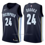 Camiseta Memphis Grizzlies Dillon Brooks #24 Icon 2017-18 Azul