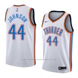Camiseta Oklahoma City Thunder Dakari Johnson #44 Association 2018 Blanco