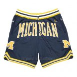 Pantalone Air Jordan Just Don NCAA Michigan Azul