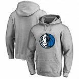 Sudaderas con Capucha Dallas Mavericks Gris