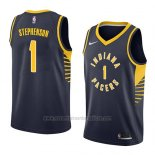 Camiseta Indiana Pacers Lance Stephenson #1 Icon 2018 Azul