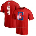 Camiseta Manga Corta Blake Griffin Los Angeles Clippers Rojo2