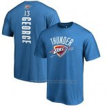 Camiseta Manga Corta Paul George Oklahoma City Thunder Azul