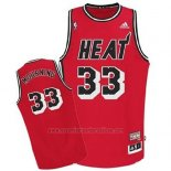 Camiseta Miami Heat Alonzo Mourning #33 Retro Rojo