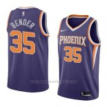 Camiseta Phoenix Suns Dragan Bender #35 Icon 2018 Azul