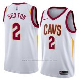 Camiseta Cleveland Cavaliers Collin Sexton #2 Association 2018 Blanco