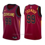 Camiseta Cleveland Cavaliers Jae Crowder #99 Swingman Icon 2017-18 Rojo