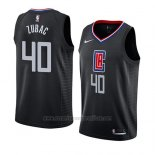 Camiseta Los Angeles Clippers Ivica Zubac #40 Statement 2019 Negro
