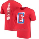 Camiseta Manga Corta Blake Griffin Los Angeles Clippers Rojo