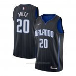 Camiseta Orlando Magic Markelle Fultz #20 Icon 2020-21 Negro