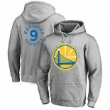 Sudaderas con Capucha Andre Iguodala Golden State Warriors Gris3