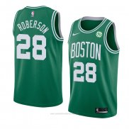 Camiseta Boston Celtics Jeff Roberson #28 Icon 2018 Verde